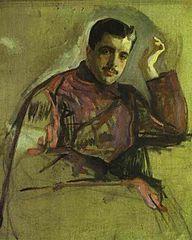 """""""Sergei de Diaghilew"""" von Valentin Alexandrovich Serov (1865–1911)"""