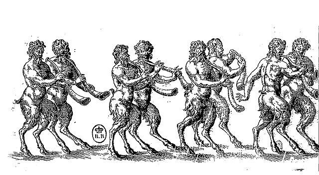 """""""Figure des Satyrs"""" from """"Ballet comique de la reine"""""""